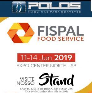 Feira FISPAL 2019 - Polos Máquinas